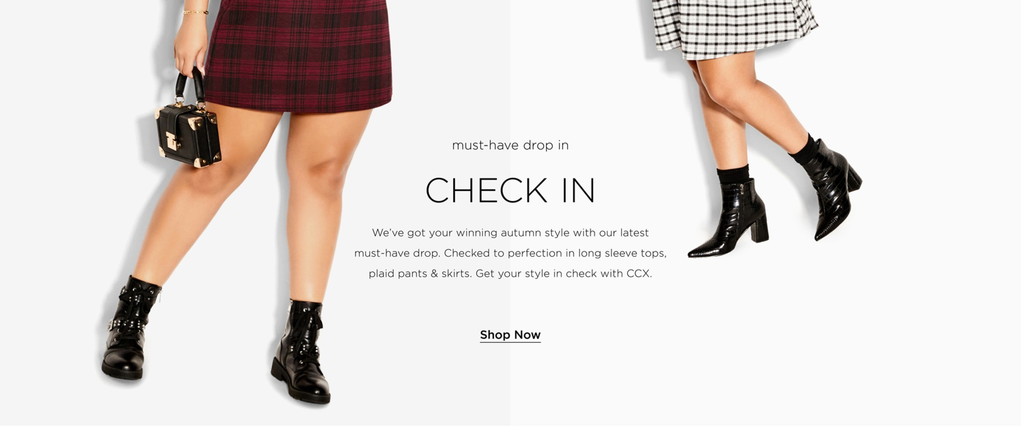 Shop Check In New Collection