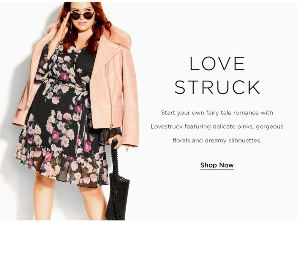 Shop City Chic Lovestruck Collection