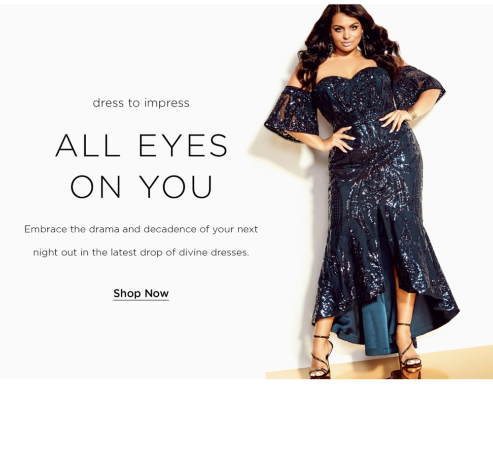 Shop City Chic Formal Dresses Collection