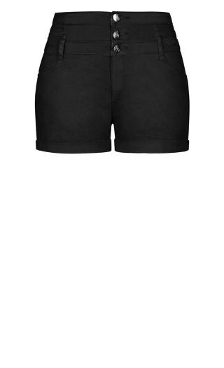 High Waist Short - black