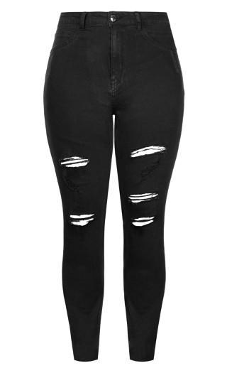 Harley Rock N Roll Skinny Jean - black