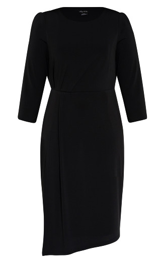 Simply Stylish Dress - black