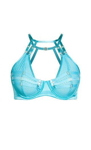 Maudie Underwire Bra - turquoise