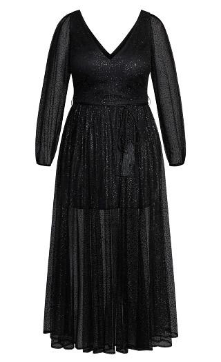 Eleganza Maxi Dress - black