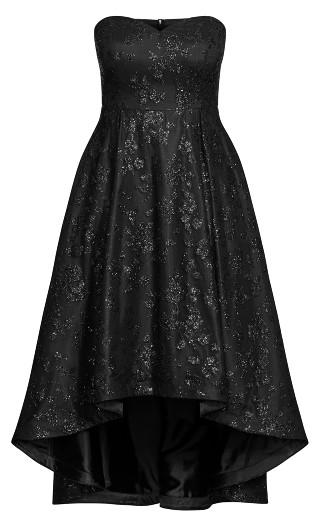 Krystal Maxi Dress - black