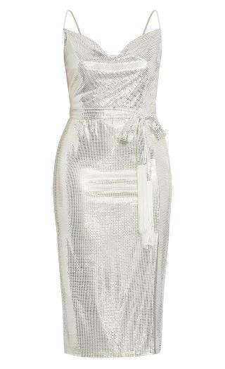 Disco Fever Dress - ivory