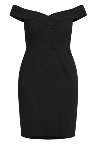 Bitter Sweet Dress - black