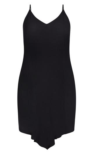 Sweet V Dress - black