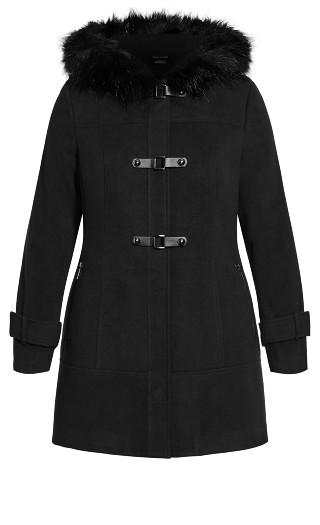 Wonderwall Coat - black