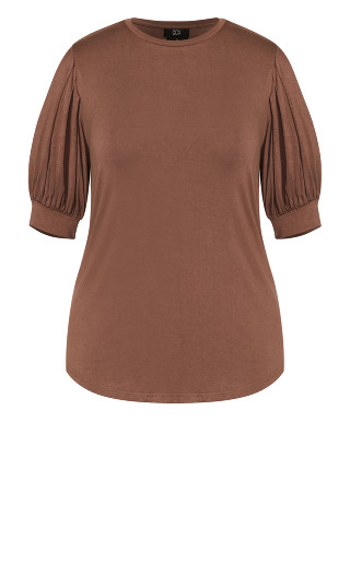 Sweet Sleeve Top - dusk