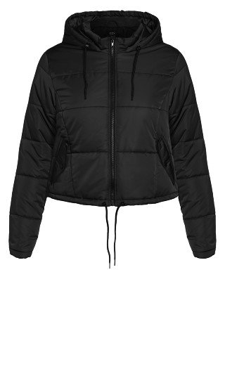 Streetwise Puffa Jacket - black