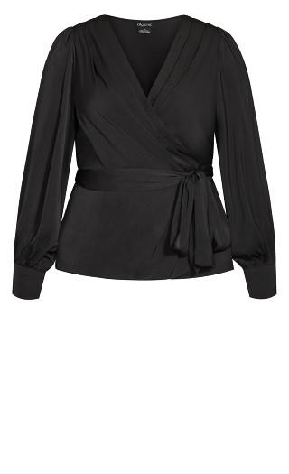 Opulent Top - black