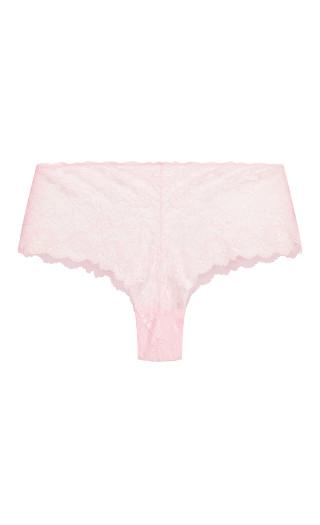 Kira Lace Boyshort - soft pink