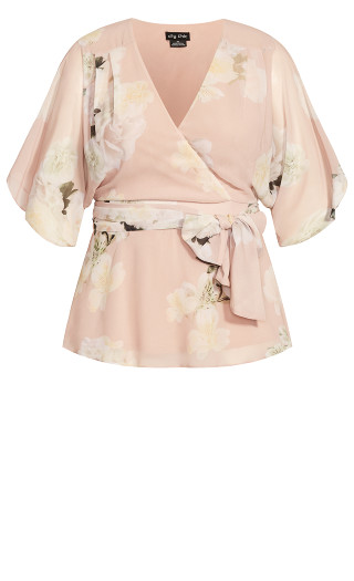 Ethereal Bloom Top - blush