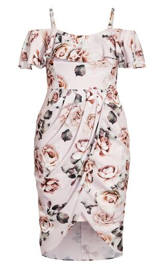 Champagne Rose Dress - blush