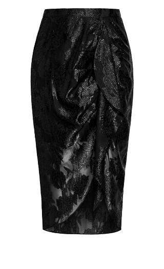 Burnout Skirt - black