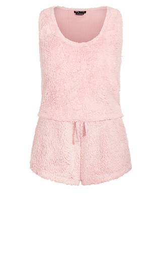 Snuggle Cami Set - blush