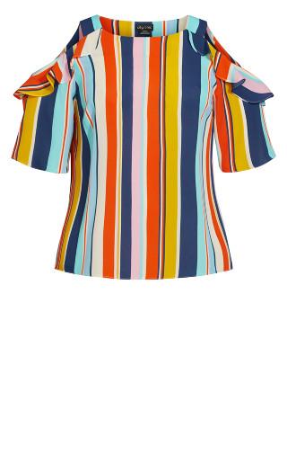 Summer Stripe Top - multi
