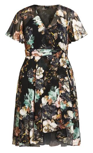 Epic Fleur Dress - black