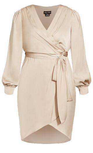 Soft Love Dress - champagne