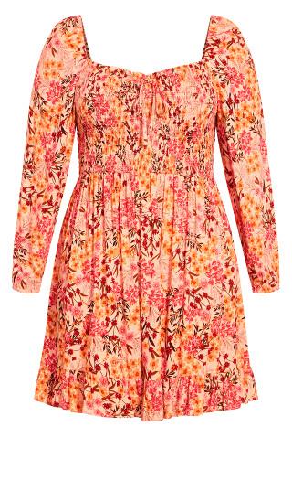 Paris Garden Dress - pink