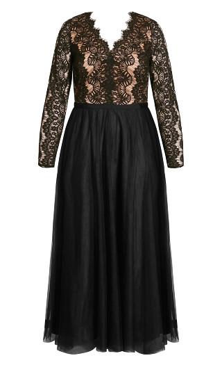 Rare Beauty Maxi Dress - black