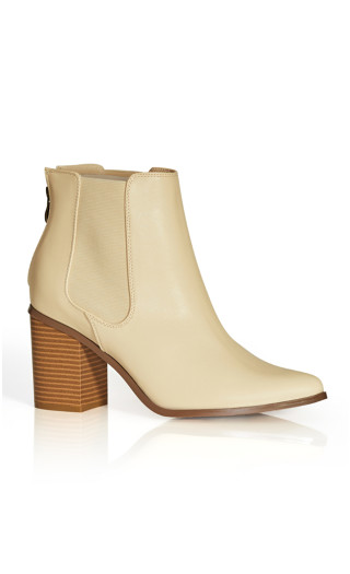 Maddie Ankle Boot - buff