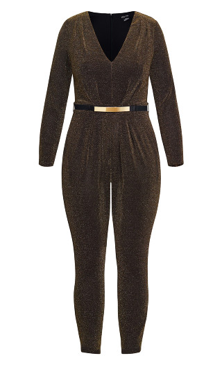 Night Queen Jumpsuit - black