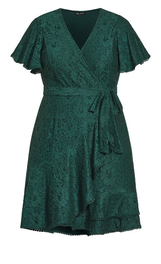 Sweet Love Lace Dress - jade
