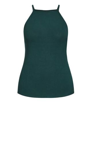 Rib Tank - emerald