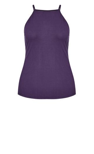 Rib Tank - violet
