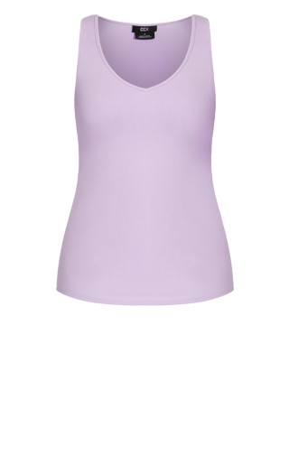 Sweetheart Cami - lilac