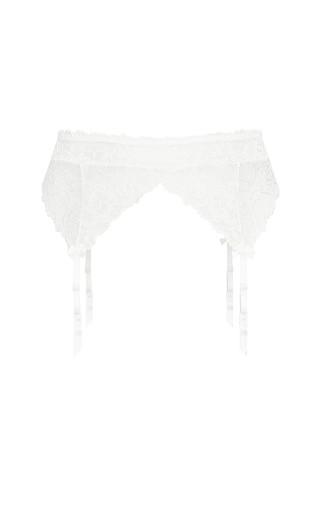 Olivia Garter Belt - ivory