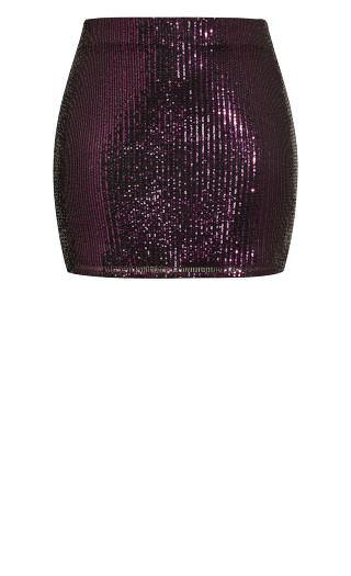 Razzle Skirt - rouge