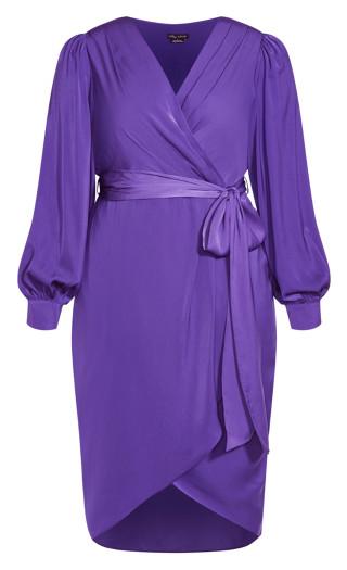 Opulent Dress - royal purple