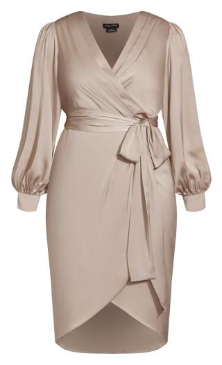 Opulent Dress - vanilla
