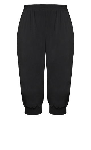 Active Crop Pant - black