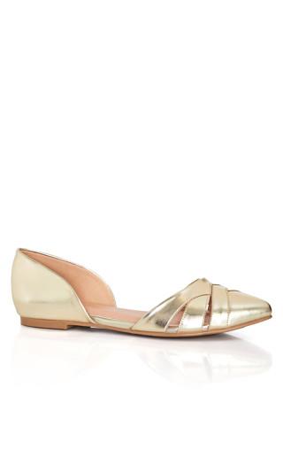 Clara Flat - gold