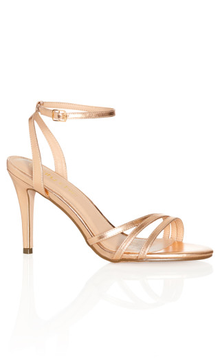Nova Heel - rose gold