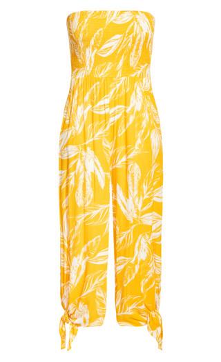 Sunshine Tropical Jumpsuit - sunshine