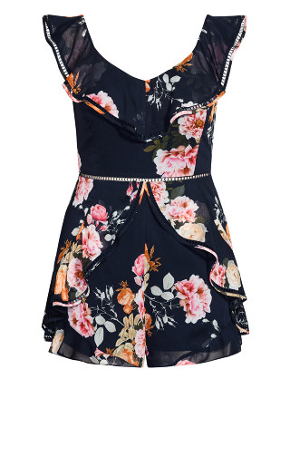 Florence Playsuit - navy