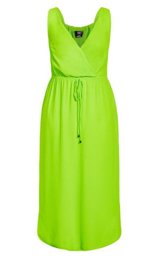 Sunlover Maxi Dress - lime