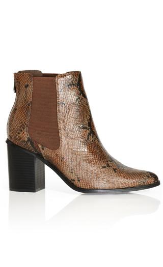 Maddie Snake Boot - snake