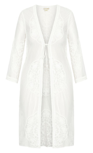 Lost Angel Jacket - ivory