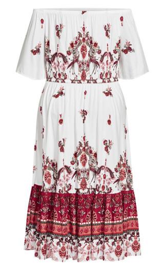 Boho Angel Maxi Dress - ivory