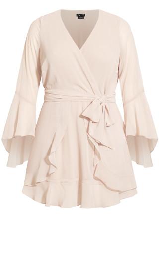 Sweet N Easy Dress - vanilla