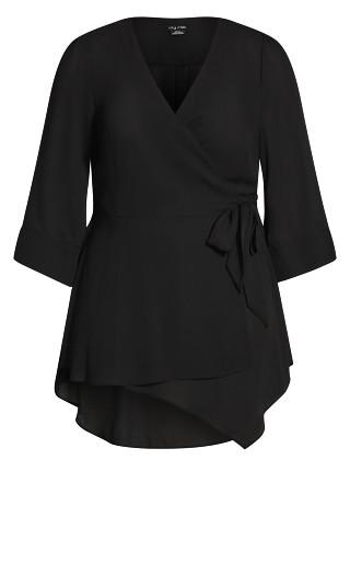 Shibara Vibes Top - black