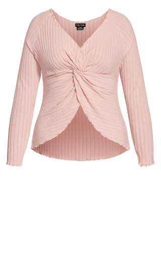 Ella Sleep Top - blush