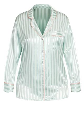 Sophia Sleep Shirt - mint