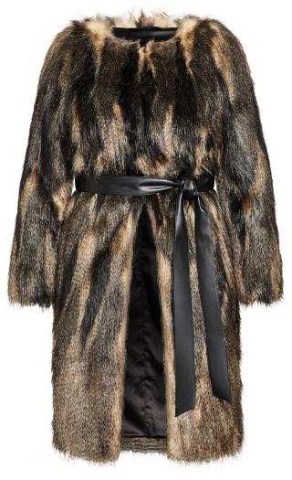 70's Diva Coat - black